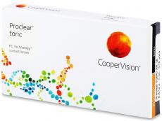 Torické (astigmatické) kontaktní čočky - Proclear Toric XR (3čočky)