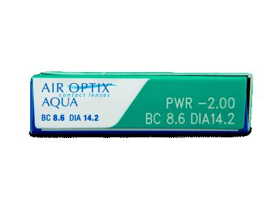 Air Optix Aqua (3čočky) -
