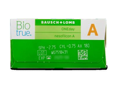 Biotrue ONEday for Astigmatism (30 čoček) -