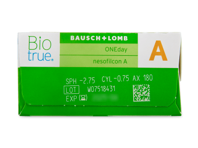 Biotrue ONEday for Astigmatism (90 čoček) -
