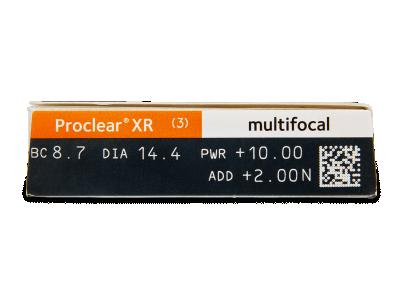 Proclear Multifocal XR (3čočky) -