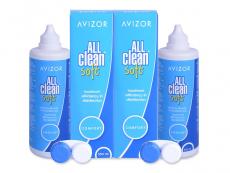 Výhodná balení roztoků - Roztok Avizor All Clean Soft 2x350 ml