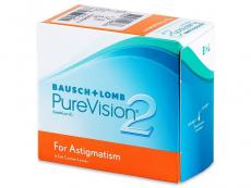 Torické (astigmatické) kontaktní čočky - PureVision 2 for Astigmatism (6čoček)
