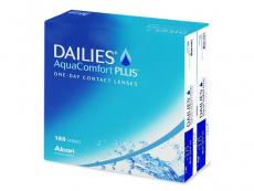 Jednodenní kontaktní čočky - Dailies AquaComfort Plus (180čoček)