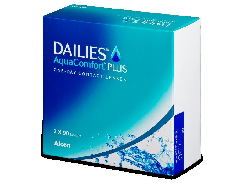 Dailies AquaComfort Plus (180 čoček)