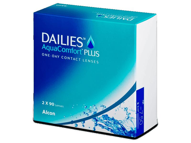 Dailies AquaComfort Plus (180čoček) - Jednodenní kontaktní čočky