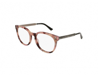 Oválné dioptrické brýle - Gucci GG0219O-010