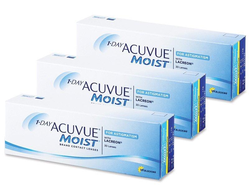 1 Day Acuvue Moist for Astigmatism (90čoček) -