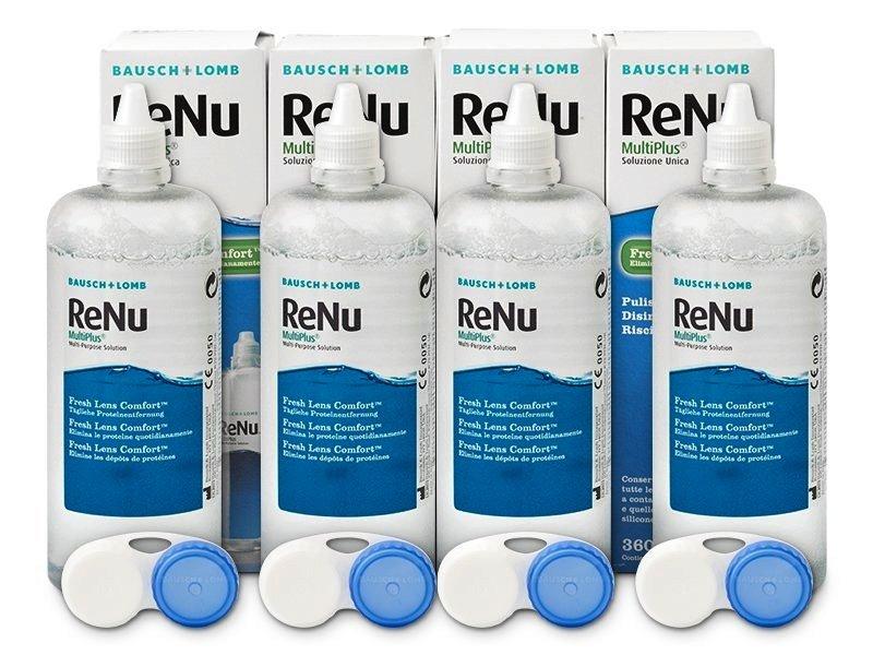 Roztok ReNu MultiPlus 4 x 360 ml