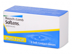 Kontaktní čočky Bausch and Lomb - SofLens Multi-Focal (3čočky)