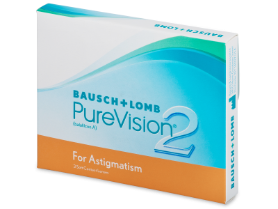 PureVision 2 for Astigmatism (3čočky)