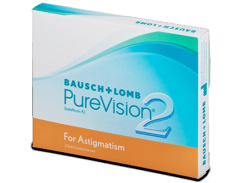 PureVision 2 for Astigmatism (3čočky) -