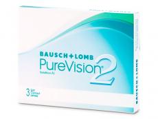Kontaktní čočky levně - PureVision 2 (3čočky)