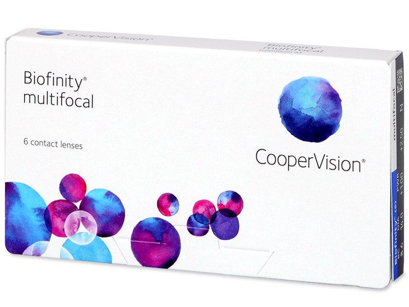 Biofinity Multifocal (6čoček) - Multifokální kontaktní čočky