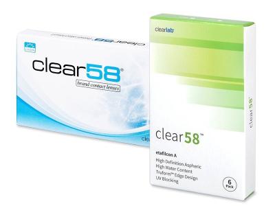 Clear 58 (6čoček)
