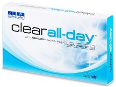 Měsíční kontaktní čočky - Clear All-Day (6čoček)
