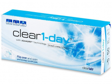 Jednodenní kontaktní čočky - Clear 1-Day (30čoček)