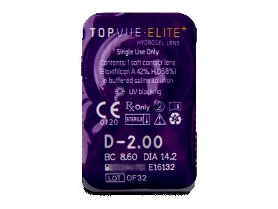 TopVue Elite+ (10 čoček) -