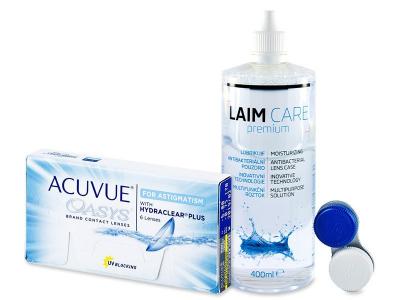 Acuvue Oasys for Astigmatism (6čoček) +roztokLaim Care400ml