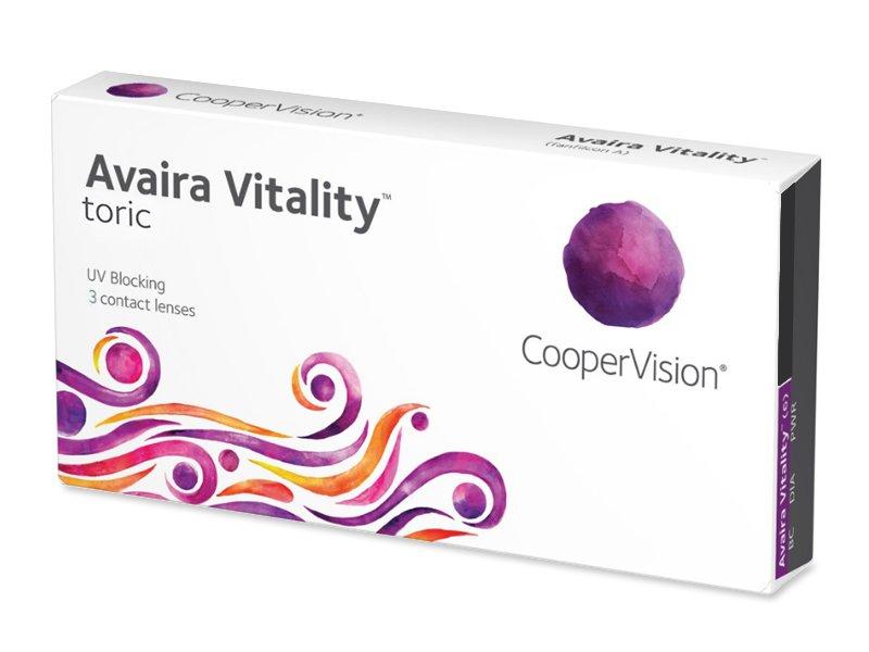 Avaira Vitality Toric (3 čočky) -