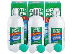 Kontaktní čočky Alcon - Roztok OPTI-FREE Express 3x355ml