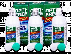 Roztok OPTI-FREE Express 3x355ml  - Výhodné trojbalení roztoku