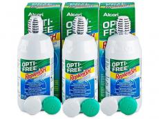 Roztoky na kontaktní čočky - Roztok OPTI-FREE RepleniSH 3x300ml