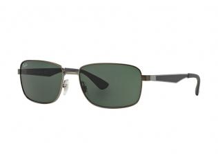 Obdélníkové sluneční brýle - Ray-Ban RB3529 - 029/71