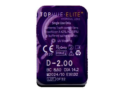 TopVue Elite+ (10párůčoček) -