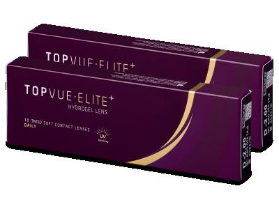 TopVue Elite+ (10párůčoček) - Jednodenní kontaktní čočky