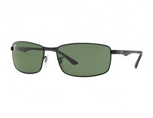 Obdélníkové sluneční brýle - Ray-Ban RB3498 - 002/71