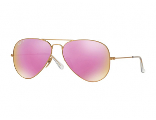 Sluneční brýle Aviator - Ray-Ban Aviator Flash Lenses RB3025 112/1Q