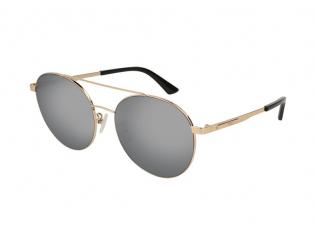 Sluneční brýle Pilot / Aviator - Alexander McQueen MQ0107SK 005