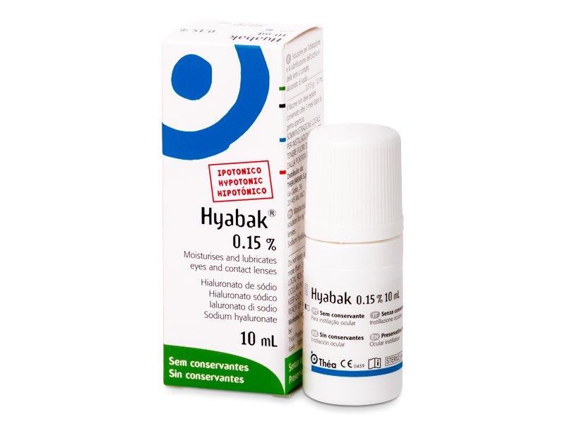 Oční kapky Hyabak 10 ml