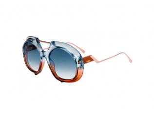 Oválné sluneční brýle - Fendi FF 0316/S S9W/08