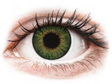 Barevné kontaktní čočky - Air Optix Colors - Green - dioptrické (2čočky)