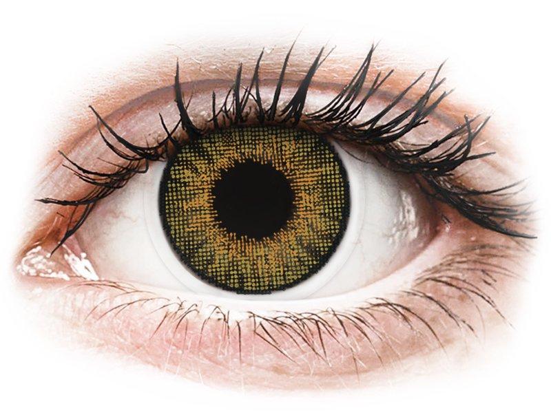 Air Optix Colors - Pure Hazel - nedioptrické (2 čočky) - Barevné kontaktní čočky