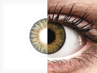 Air Optix Colors - Pure Hazel - nedioptrické (2 čočky)
