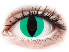 Kontaktní čočky Maxvue Vision - ColourVUE Crazy Lens - Anaconda - nedioptrické (2 čočky)