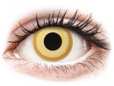 Kontaktní čočky Maxvue Vision - ColourVUE Crazy Lens - Avatar - nedioptrické (2čočky)