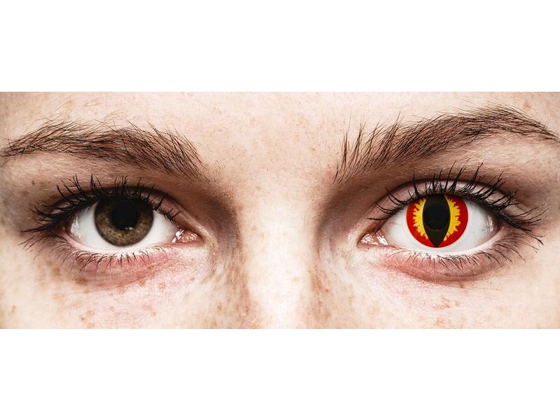 ColourVUE Crazy Lens - Dragon Eyes - nedioptrické (2 čočky)