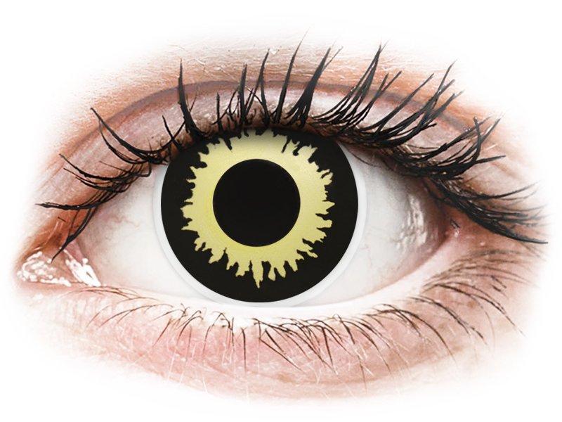 ColourVUE Crazy Lens - nedioptrické (2 čočky) Eclipse