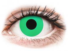 Crazy kontaktní čočky - nedioptrické - ColourVUE Crazy Lens - Emerald (Green) - nedioptrické (2čočky)