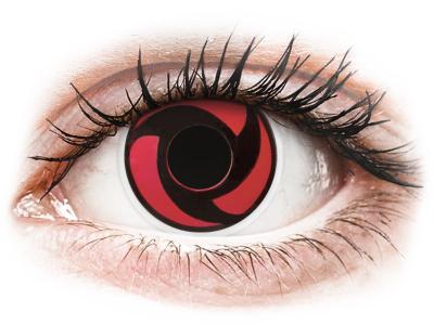 ColourVUE Crazy Lens - Mangekyu - nedioptrické (2 čočky)