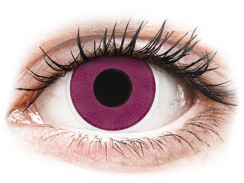 ColourVUE Crazy Lens - nedioptrické (2 čočky) Purple