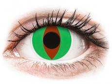 Kontaktní čočky Maxvue Vision - ColourVUE Crazy Lens - Raptor - nedioptrické (2čočky)