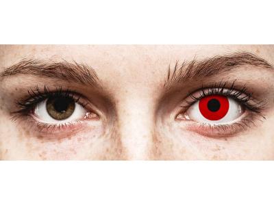 ColourVUE Crazy Lens - Red Devil - nedioptrické (2 čočky)