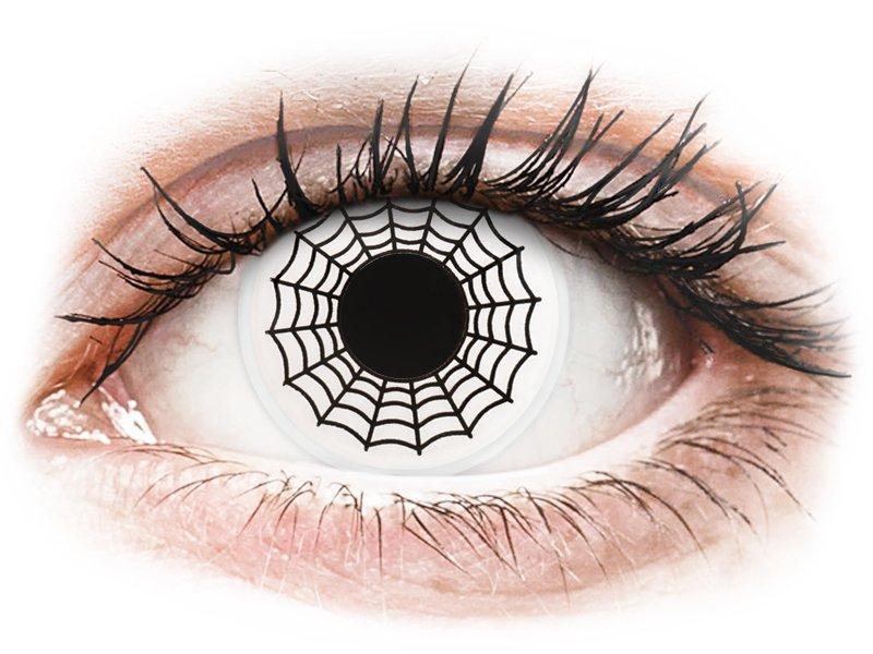 ColourVUE Crazy Lens - nedioptrické (2 čočky) Spider