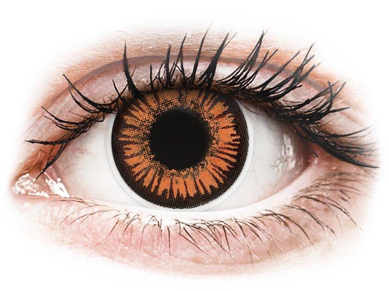 ColourVUE Crazy Lens - dioptrické (2 čočky) Twilight