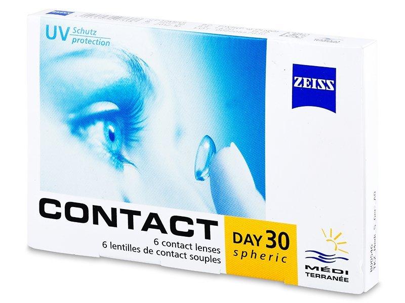 Carl Zeiss Contact Day 30 Spheric (6čoček) - Měsíční kontaktní čočky